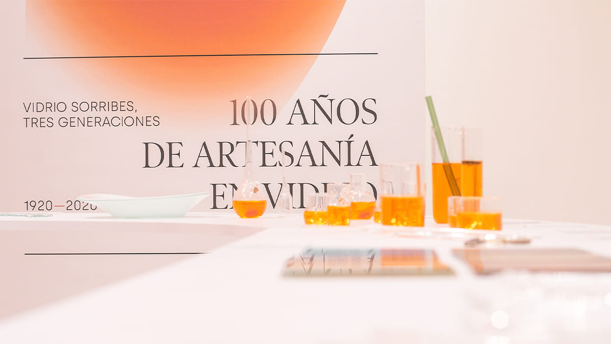 exposición centenario vidrio sorribes