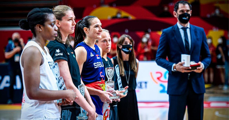 trofeos top 5 women's eurobasket