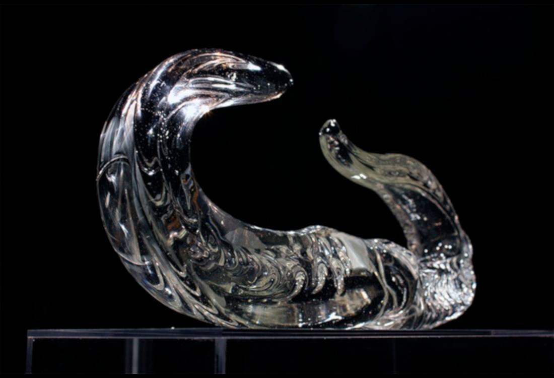 escultura vidrio rego