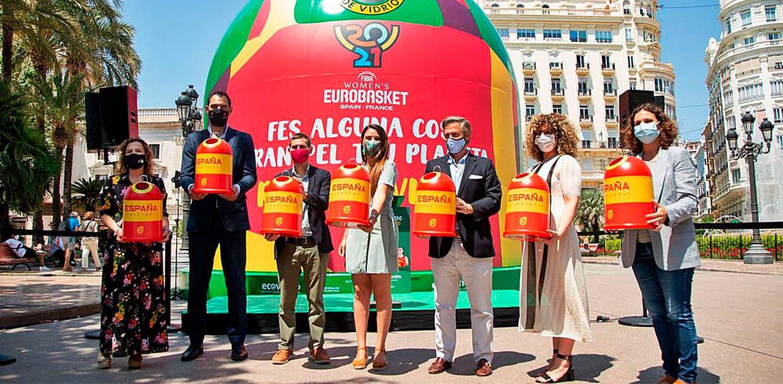 reciclaje eurobasket 2021